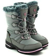 Ботінки термо зима дівч. American Club SN13/20, 28 (27-31) сірий