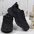 Стильные кроссовки мужские демисезонные черные BaaS Повседневные мужские кроссовки из текстиля Размер 41-46, фото 3