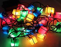 Светодиодная гирлянда подарки 3 метра 2W