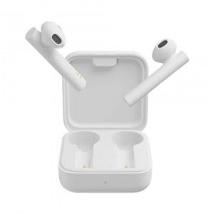Гарнитура bluetooth Xiaomi Mi True Wireless Earphones 2 Basic White Оригинал! Вкладыши Bluetooth Белый Силикон Без крепления