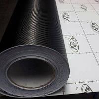 Карбоновая пленка 3d черного цвета «TR-1»