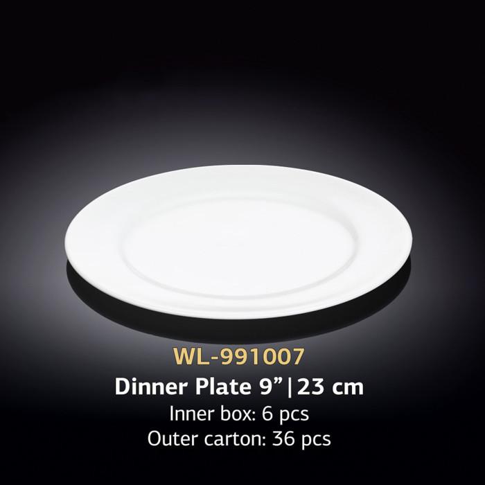 Тарелка обеденная (Wilmax, Вилмакс, Вілмакс) WL-991007