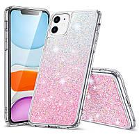 Чехол ESR для iPhone 11 Glamour, Ombra Pink (3C01192570201)
