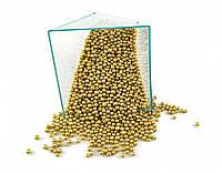 Посыпка шарики золото 2 мм, 1 кг