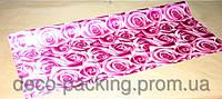 Упаковка цветочная вишневая Satin Rose ( 5 Ярдов)