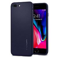 Чехол Spigen для iPhone 8 Plus / 7 Plus Liquid Air, Midnight Blue (043CS21191)