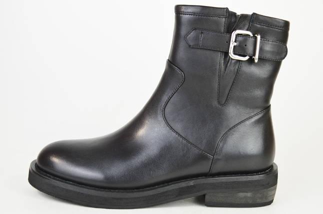 Ботинки кожаные Berkonty 91506 черные, фото 2