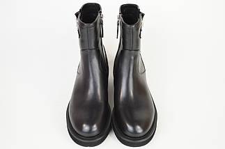 Ботинки кожаные Berkonty 91506 черные, фото 3