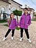 Костюм на девочку турецкая трёхнить с начесом 116;122;128 см