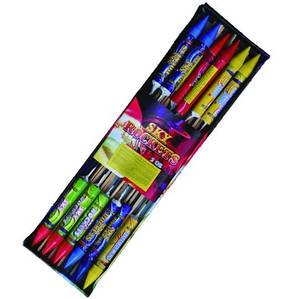 Набор ракет \ Ракеты Зоряна подорож 12 шт в наборе Р 12 - 15