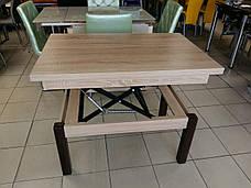 Кухонный стол трансформер Флай Fn, дуб сонома, фото 2