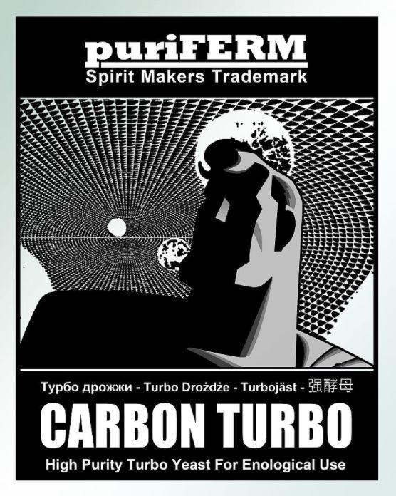 Спиртовые турбо дрожжи Puriferm Carbon