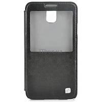 Чехол для телефона HOCO для Samsung N9000 Galaxy Note III / Crystal view HS-L069 / Black (6108249)
