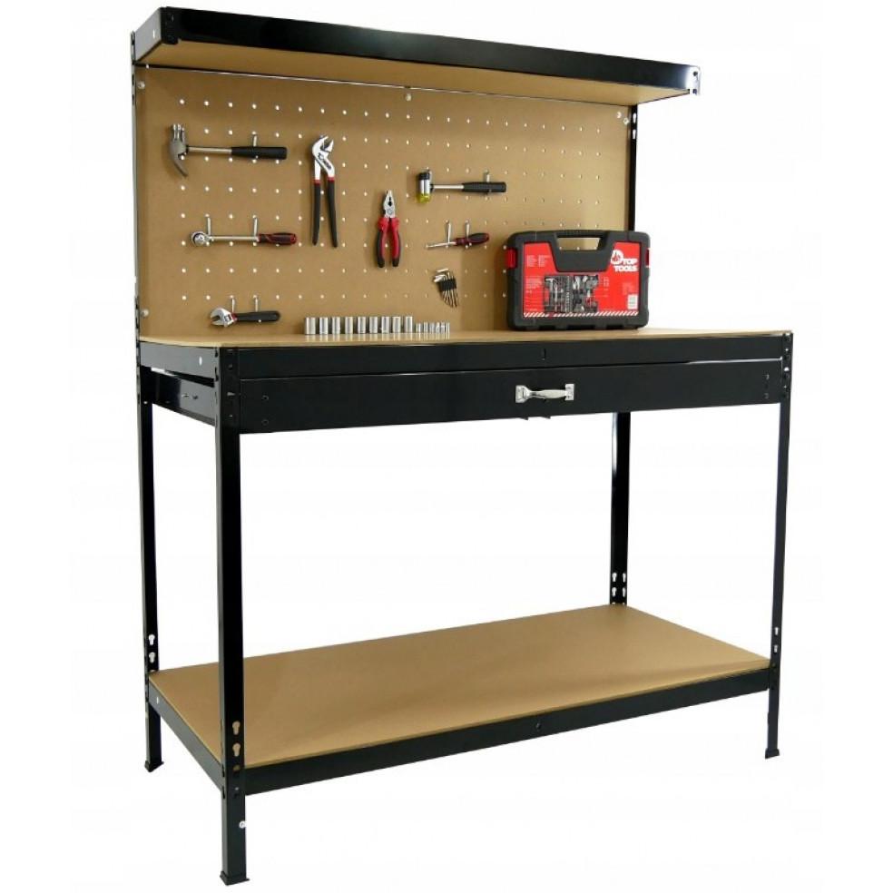 Робочий стіл верстак слюсарний Siker WB001 інструментальний для майстерні
