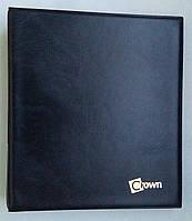 Альбом для банкнот Crown Черный (S18)