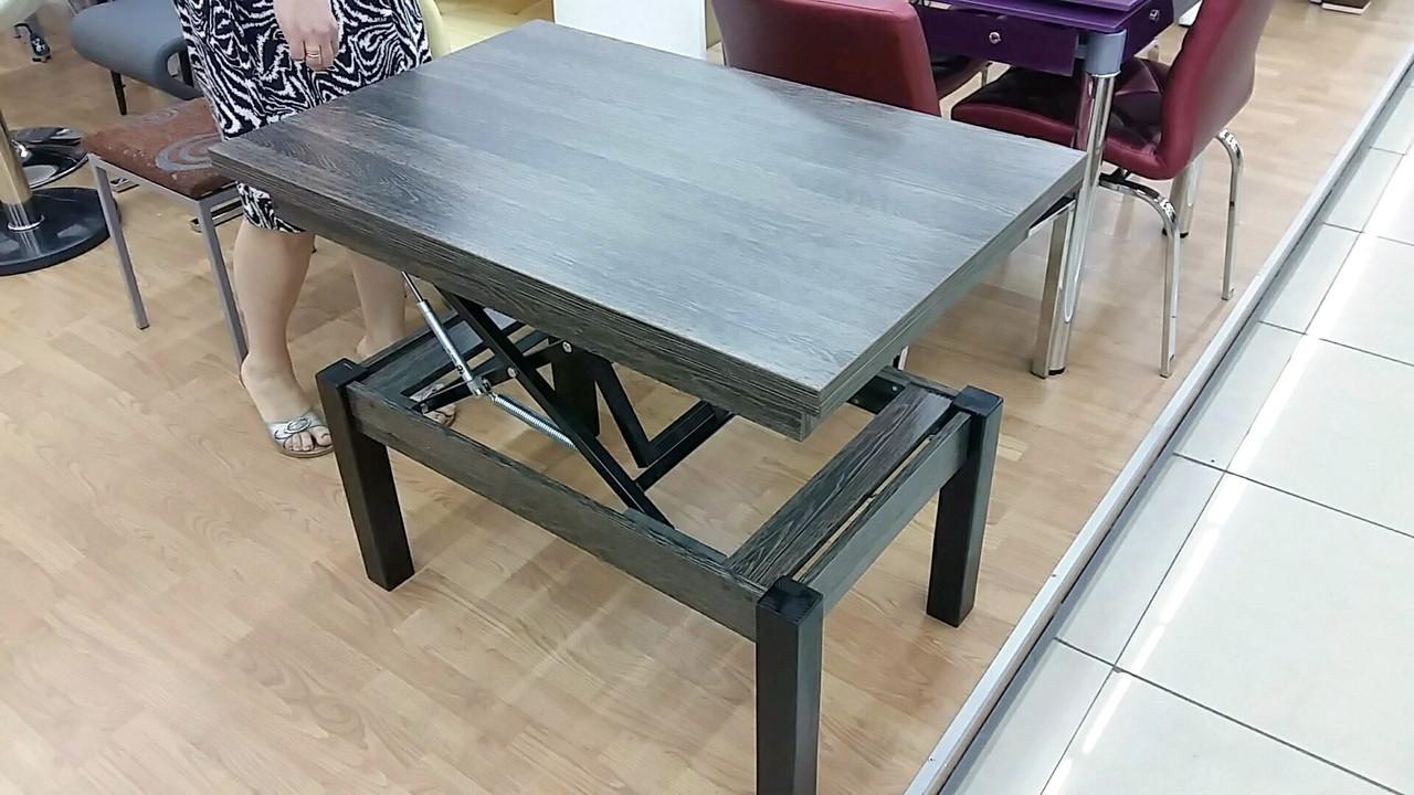 Кухонный стол трансформер Флай Fn, венге аруша