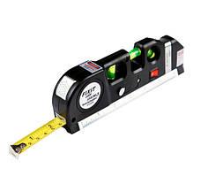 Лазерний рівень нівелір Fxit Laser Level Pro 3 + рулетка + рівень