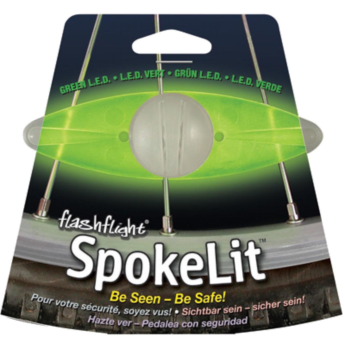 Светодиод велосипедный SpokeLit зеленый