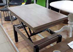 Кухонный стол трансформер Флай  Fusion Furniture, цвет дуб шамони
