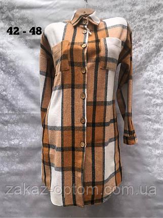 Рубашка женская оптом(42-48)Украина-63014, фото 2
