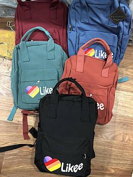 Рюкзак тканевый 38*26 см модный Likee Zenya