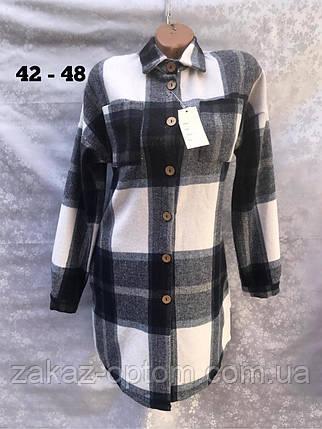 Рубашка женская оптом(42-48)Украина-63017, фото 2