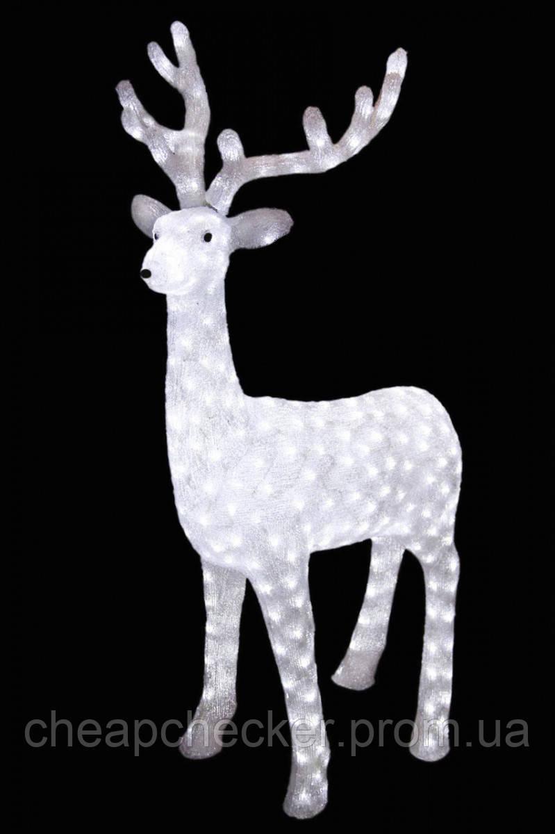 Олень Игрушка с Подсветкой 40 см для Атмосферы Нового Года Рождества Размер 100 см
