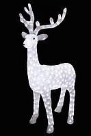 Олень Игрушка с Подсветкой 40 см для Атмосферы Нового Года Рождества Размер 100 см, фото 1
