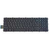 Клавиатура для Dell Inspiron Gaming 15 7566 7567 5570 5770 5775 5575 7570 7577, RU, (чёрная, с подсветкой,