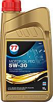 77 MOTOR OIL FEC 5W-30 (кан. 1 л), A5/B5, A1/B1