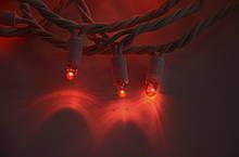 Светодиодная гирлянда STRING LIGHT 20 метров 200 ламп Красная