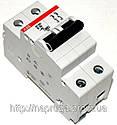 abb SH 202 B 50A- Автоматический выключатель abb(абб) -2-х полюс. автомат, фото 2