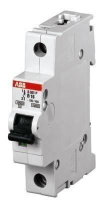 abb SH 201 С 6A Автоматический выключатель abb(абб) -однополюсный автомат