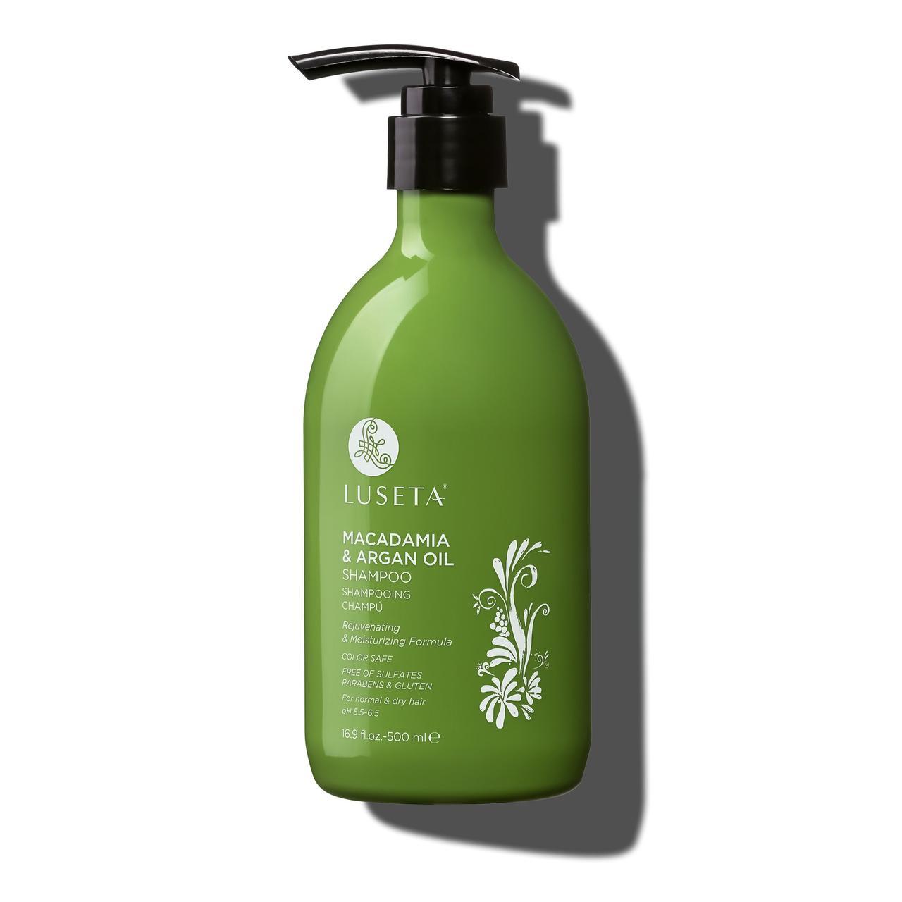 Шампунь для восстановления волос Luseta Macadamia & Argan Oil Shampoo 500ml