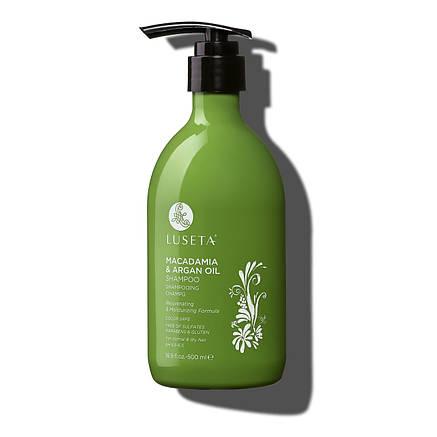 Шампунь для восстановления волос Luseta Macadamia & Argan Oil Shampoo 500ml, фото 2