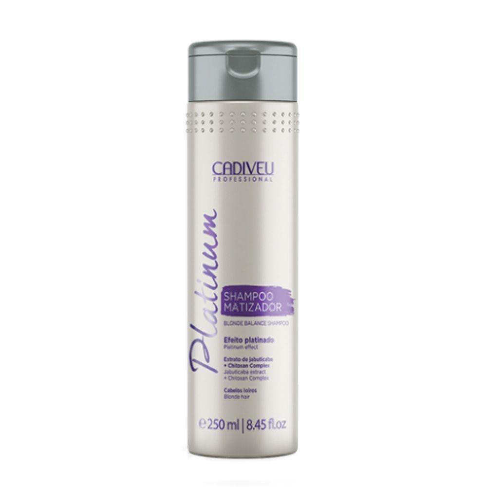 Тонирующий шампунь Cadiveu Platinum Shampoo Matizador 250ml