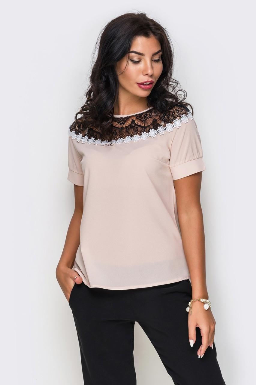 S, M, L, XL | Жіноча вечірня блузка Isida, бежевий