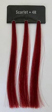 Стойкая краска для волос с низким содержанием аммиака ILLUSIONIST оттенок 4R - Scarlet, фото 2
