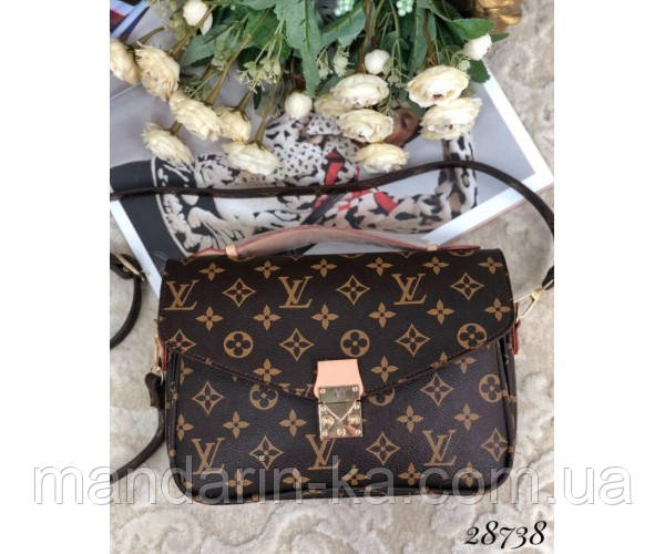 Сумка кожаная Louis  Vuitton Pochette Metis