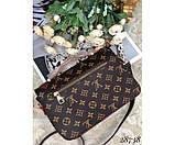 Сумка кожаная Louis  Vuitton Pochette Metis, фото 5