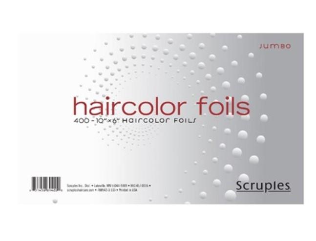 """Фольга для обесцвечивания волос SCRUPLES Haircolor Jumbo Foils (10"""" x 6"""")"""