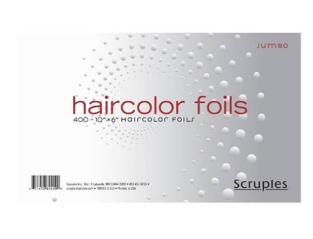 "Фольга для обесцвечивания волос SCRUPLES Haircolor Jumbo Foils (10"" x 6""), фото 2"