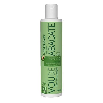 Кондиционер для интенсивного восстановления поврежденных волос Griffus Condicionador Vou de Abacate 420 ml, фото 2