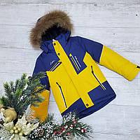 Зимняя куртка W-7 на 100% холлофайбере размеры от 116 см до 140 см рост
