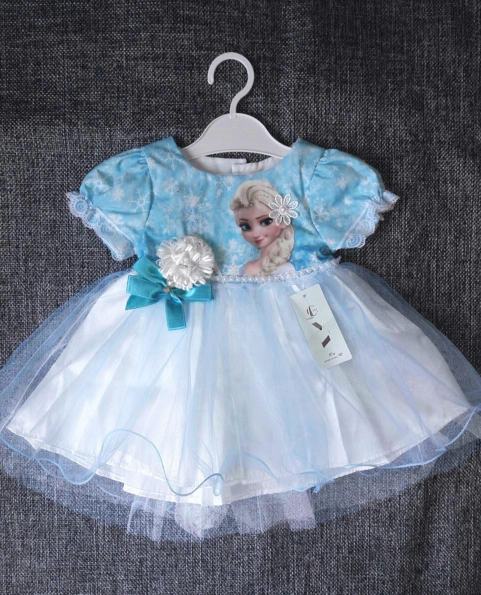 НЕДОРОГО пишне нарядне плаття на дівчинку р. 1, 2 (на рік, на 2 роки ріст 74, 80, 86))