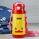 Термос -  Поильник детский (MT-2085) (Желтая Уточка), фото 4