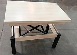 Кухонный стол трансформер Флай  Fusion Furniture, цвет  дуб шамони светлый