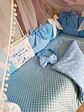 Детский постельный комплект в кроватку, одеяло-конверт, фото 8