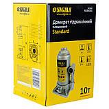 Домкрат гидравлический бутылочный 10т H 200-385мм Standard SIGMA (6106101), фото 4