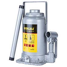 Домкрат гидравлический бутылочный 20т H 235-445мм Standard SIGMA (6106201)